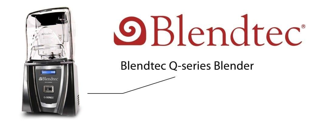 how to turn on blendtec blender