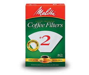 Melitta #2 Cone Filters (White) (40ct)