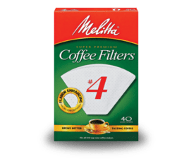 Melitta #4 Cone Filters