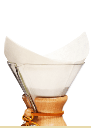 Chemex Bonded Filters – Pre-folded Squares 100 ct