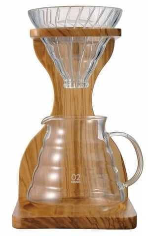Hario V60 Single Drip Olive Wood Stand