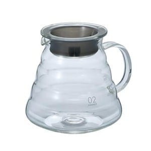 Hario V60 Range Server – 600mL – Glass, Clear