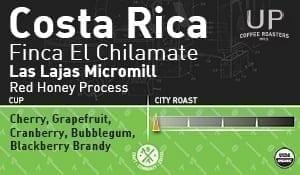 Costa Rica Red Honey, Finca El Chilamate – Las Lajas