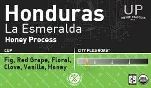 Honduras Honey Process, La Esmeralda