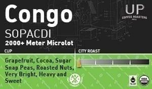 Congo SOPACDI 2,000+ Meter Microlot