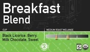 UP Breakfast Blend