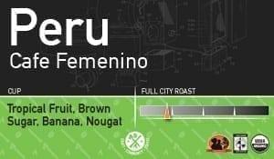 Peru 'Cafe Femenino'