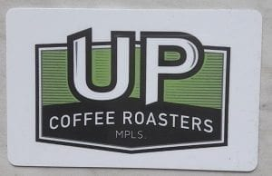 UP Coffee Roasters Gift Card