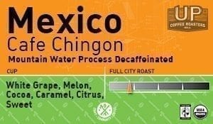 "Decaf Mexico ""Cafe Chingon"" – Guadalupe Mirimar, Mountain Water Process"