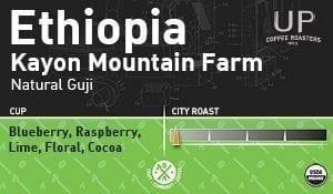 Ethiopia Kayon Mountain Farm, Natural Guji