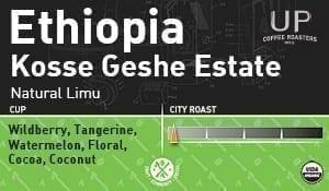 Ethiopia Kossa Geshe Natural Limu