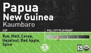 Papua New Guinea, Kaumbaro