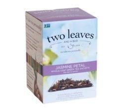 Two Leaves and a Bud Jasmine Petal