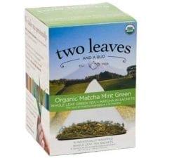 Two Leaves and a Bud Matcha Mint