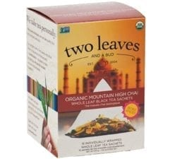 Two Leaves and a Bud Mountain High Chai
