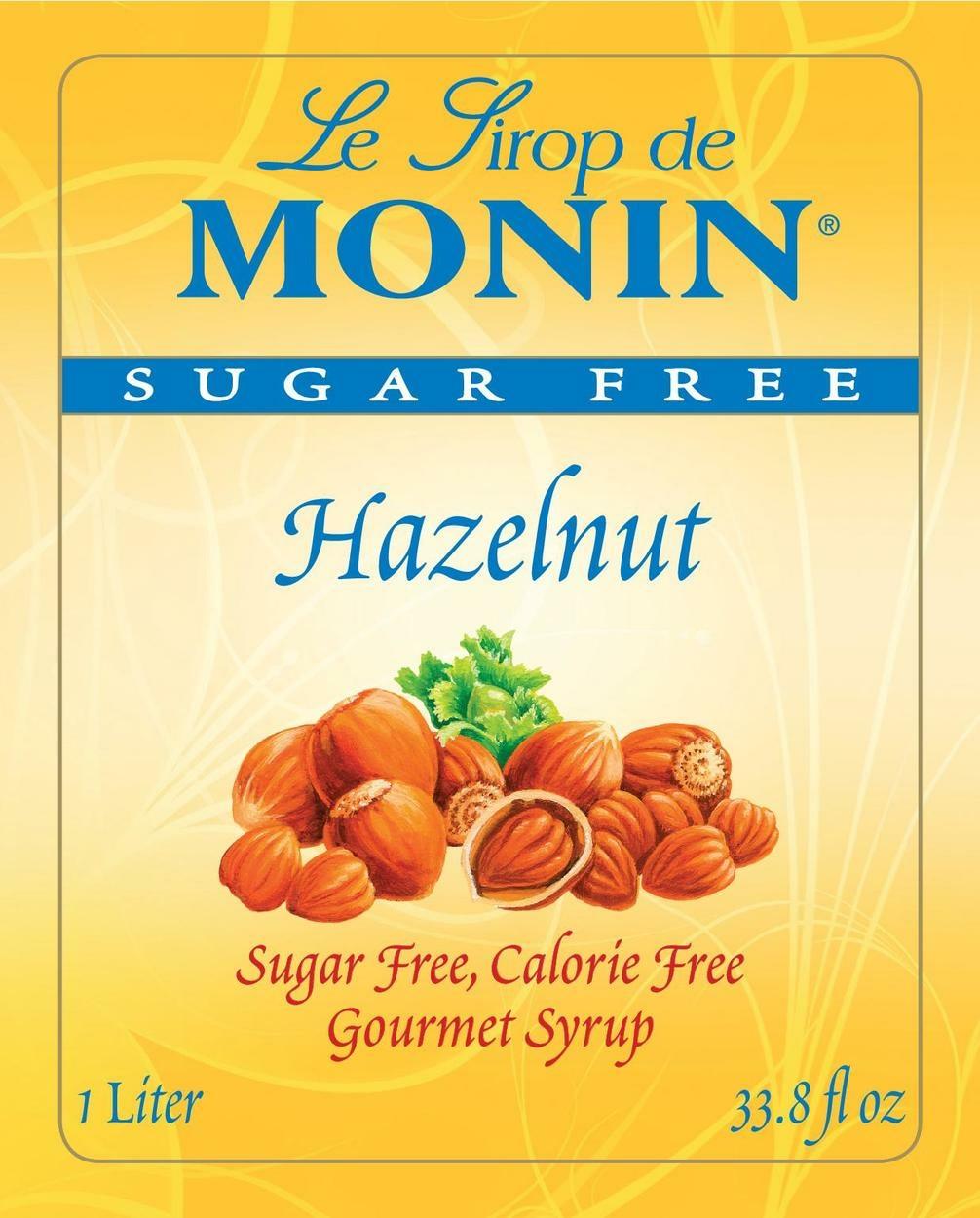 Monin Sugar Free Hazelnut Up Coffee Roasters